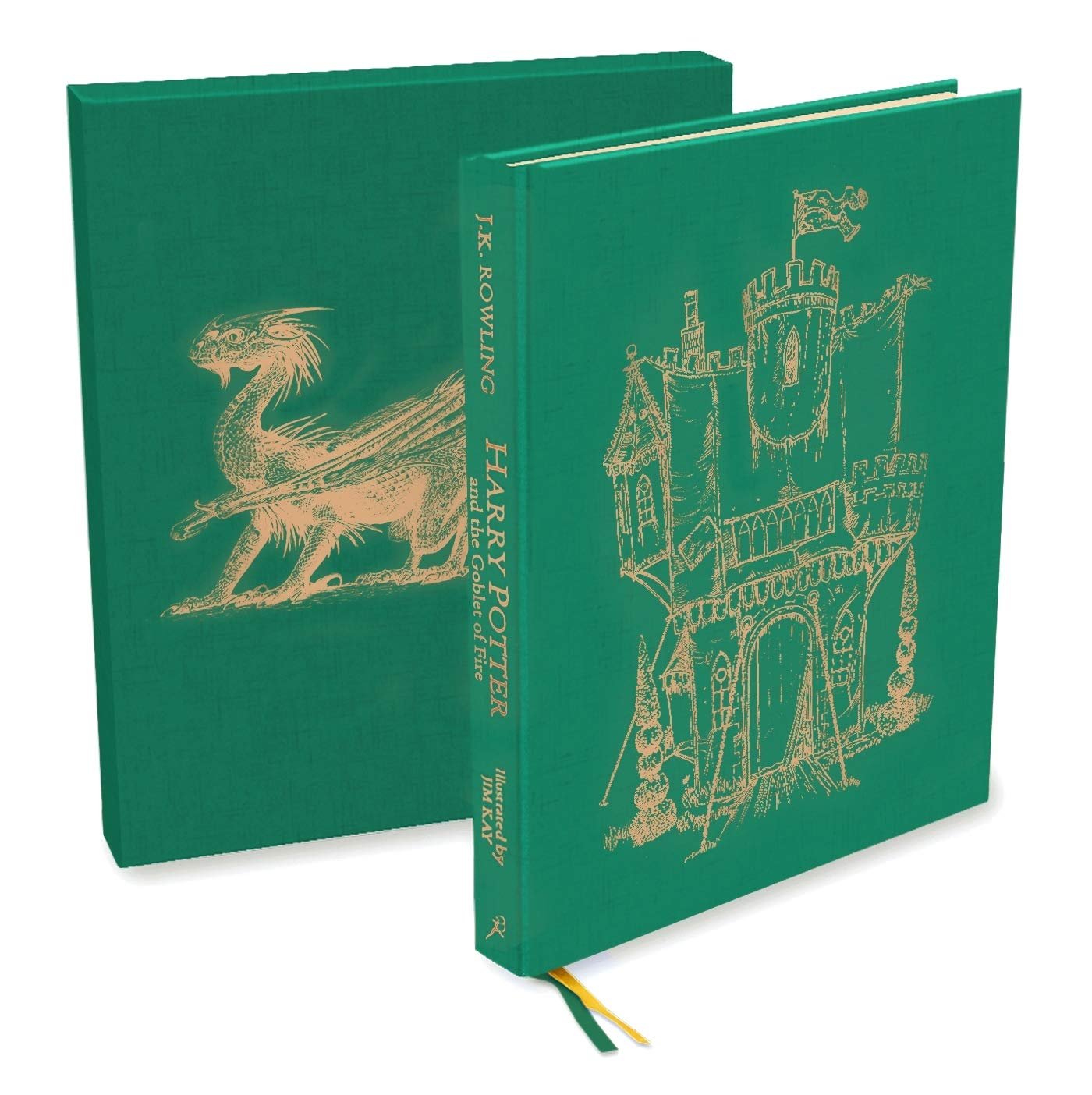 Harry Potter and the Goblet of Fire: Deluxe Illustrated Slipcase Edition by Bloomsbury Children's Books
