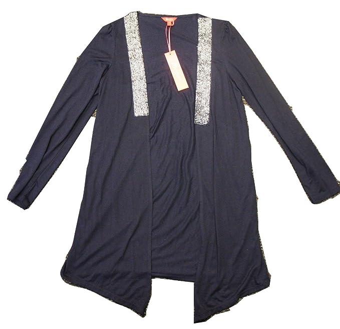 MONSOON azul marino chaqueta no es el diseño cascada de ...