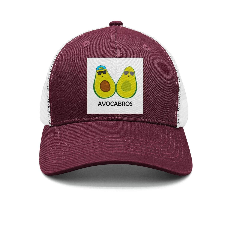 TopCrazy 3 Cute Avocado Avocatos Snapback Hat Men//Women Fashion Snapback Hats