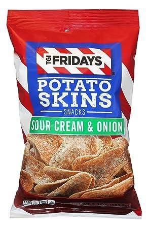 TGI Fridays Patatas Skins Snack Chips- 5.5 oz. Bolsas ...