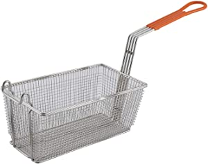 Winco Fry Basket with Orange Handle