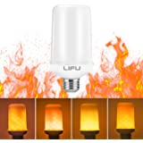 Led Bulbs, LIFU Flame Lighting LED Flicker Flame Bulbs E27 1500K Creative Lights with Flickering Emulation Atmosphere Decorative Lamps for Home,Garden,Party,Bar,Wedding,Festival Decoration