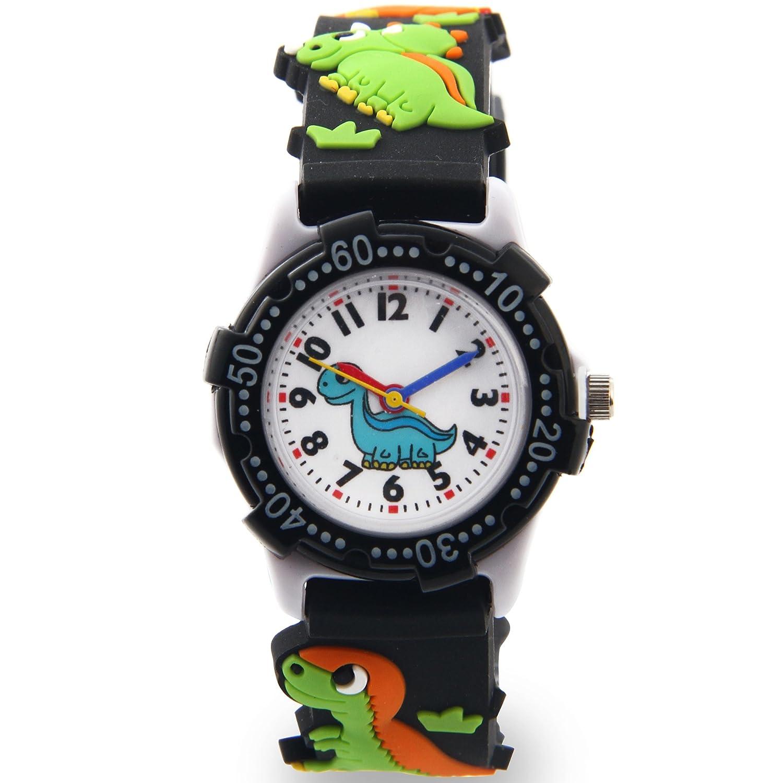 73dec8122 Amazon.com  Macoon Watch Boys (Black)  Parallel import goods   Clothing