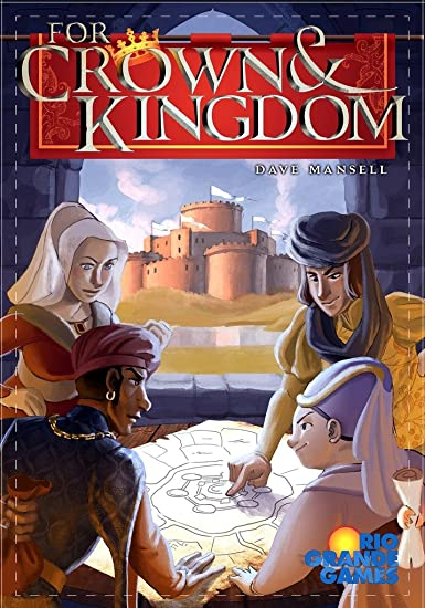 Rio Grande Games for Crown and Kingdom Board Game