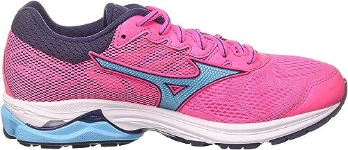 Mizuno Wave Rider 21 Wos, Zapatillas de Running Mujer: Amazon.es: Zapatos y complementos