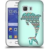 Head Case Designs Delfin Gemustert Tiere Silhouettes Ruckseite Hülle für Samsung Galaxy Young 2