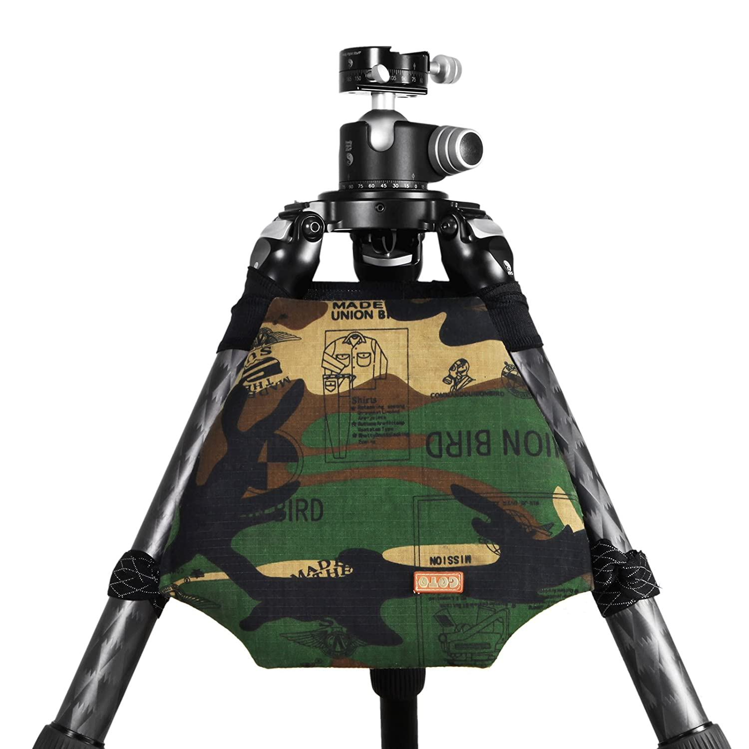 Mekingstudio General Carrying Tripod Shoulder Pad for Camera Tripod Support Camouflage
