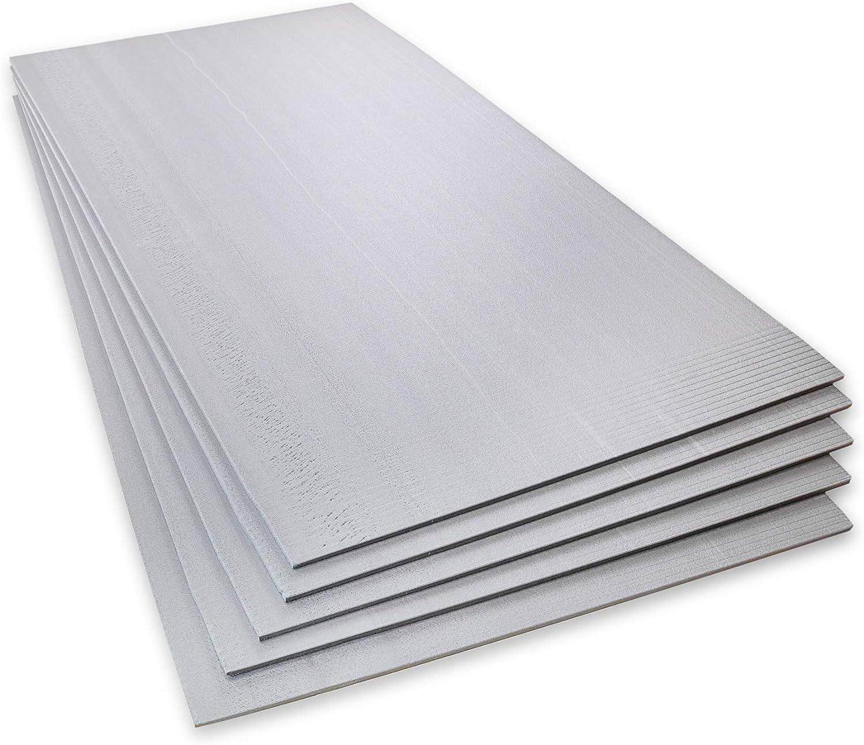 Fu/ßbodenheizung 6 mm XPS Boden D/ämmplatten 1200 mm x 600 mm 10 Blatt