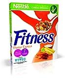 Fitness Fruits Cereali Fiocchi di Frumento con Frutta: Uvetta Ananas Papaya Cocco e Mela 325g