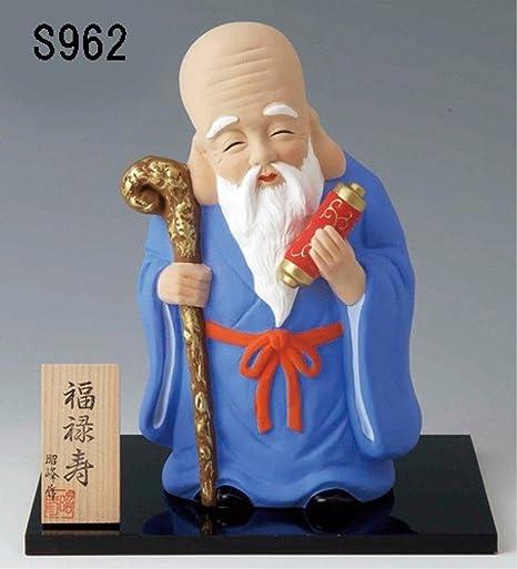 Amazon | 雑貨 和風 福禄寿 七福神置物 (特大) デザイン:福禄寿 ...