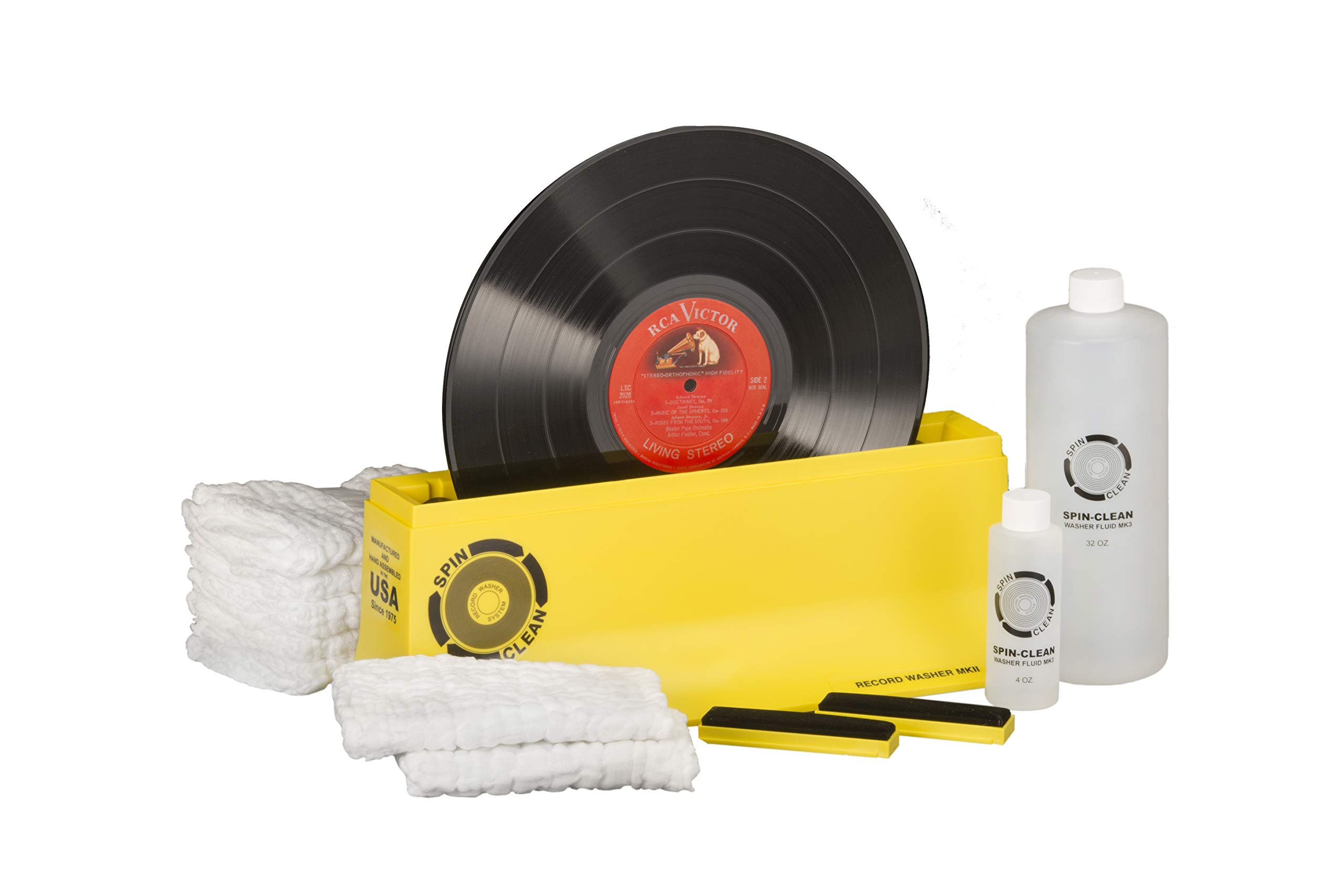 Spin-Clean Record Washer MKII Deluxe Kit ... by SPIN CLEAN