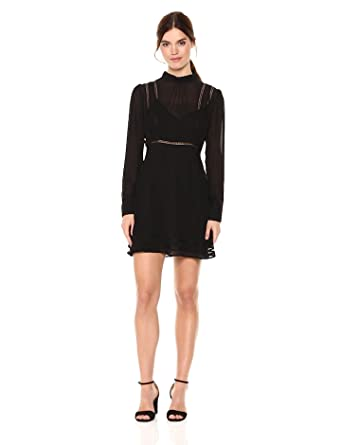 Astr The Label Womens Kirsten Long Sleeve Shift Dress At Amazon