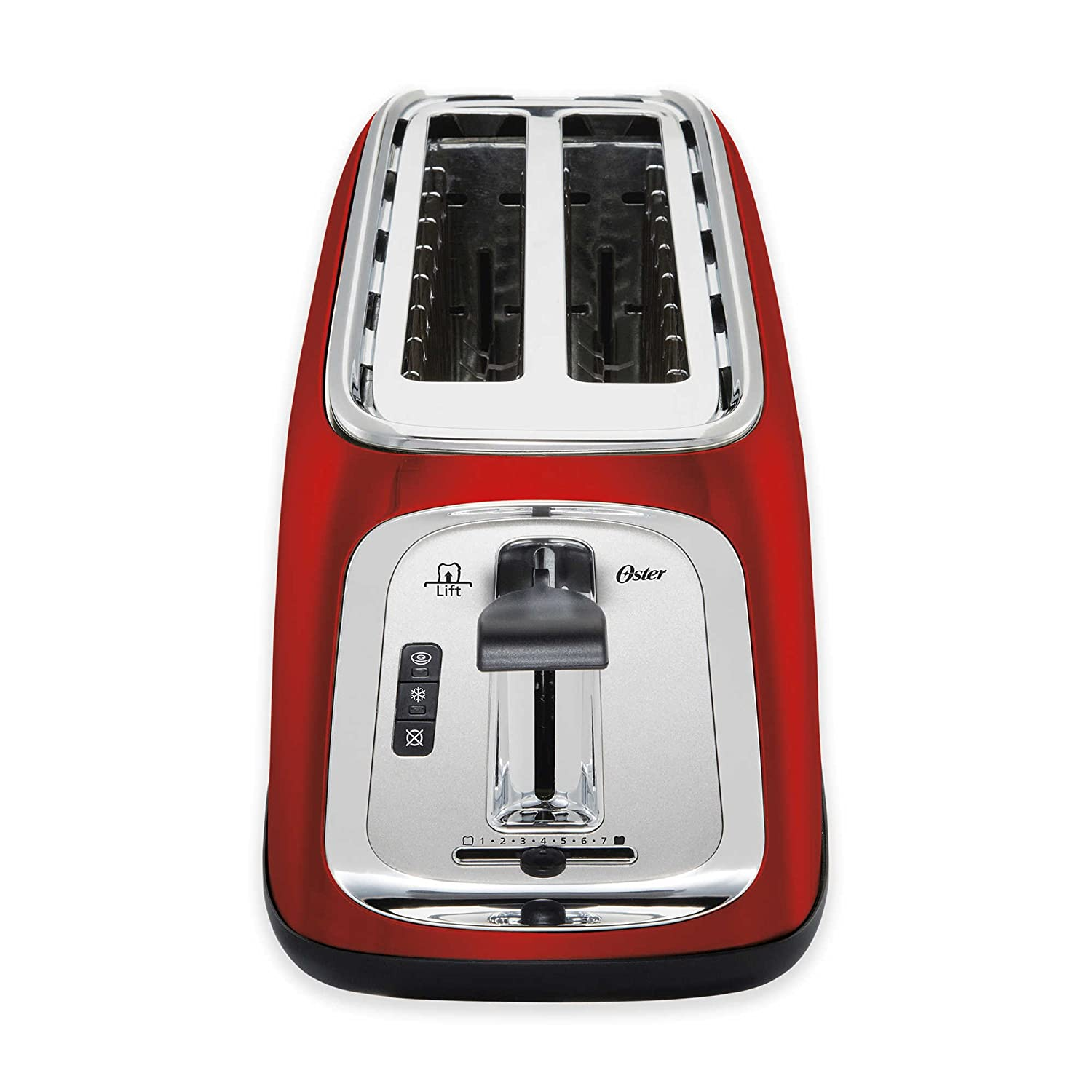 Oster 4-Slice Long-Slot Toaster in Red