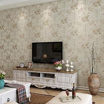 Longless Wallpaper, vert, tissu, papier peint, 3D, salle de séjour ...