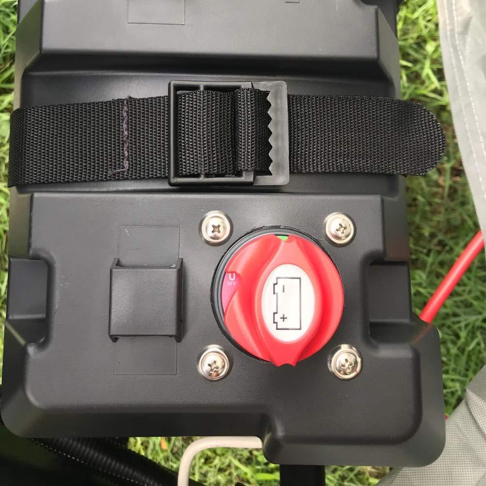 Waterproof Heavy Duty Battery Isolator Switch Battery Switch On Off Position 275//1250 Amps 6V 12V 24V 48V 60V Battery Disconnect Master Cutoff Switch for Marine Boat RV ATV UTV Vehicles