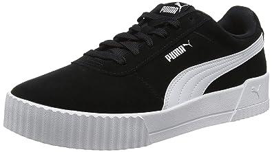 98885c33687 Puma Women s Carina Low-Top Sneakers  Amazon.co.uk  Shoes   Bags