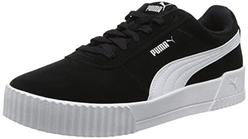 88df9ae9818 Puma Women s Carina Low-Top Sneakers  Amazon.co.uk  Shoes   Bags