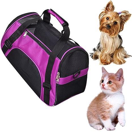 Bolso de transporte transpirable para perros y gatos de Unicoco
