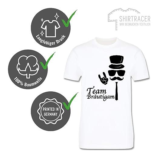 JGA Junggesellenabschied Team Bräutigam Hipster Suit up Herren T Shirt und Männer Tshirt