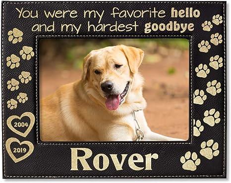 Personalised Pet Dog Photo Print Gift Animal In Memory Of Memorial Best Friend