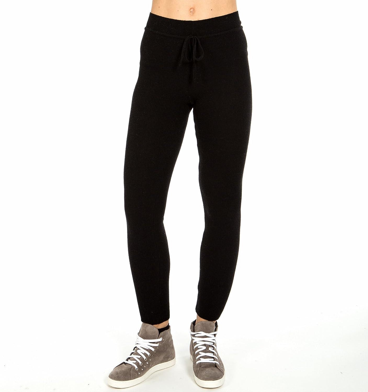 Black Legging in 100% cashmere