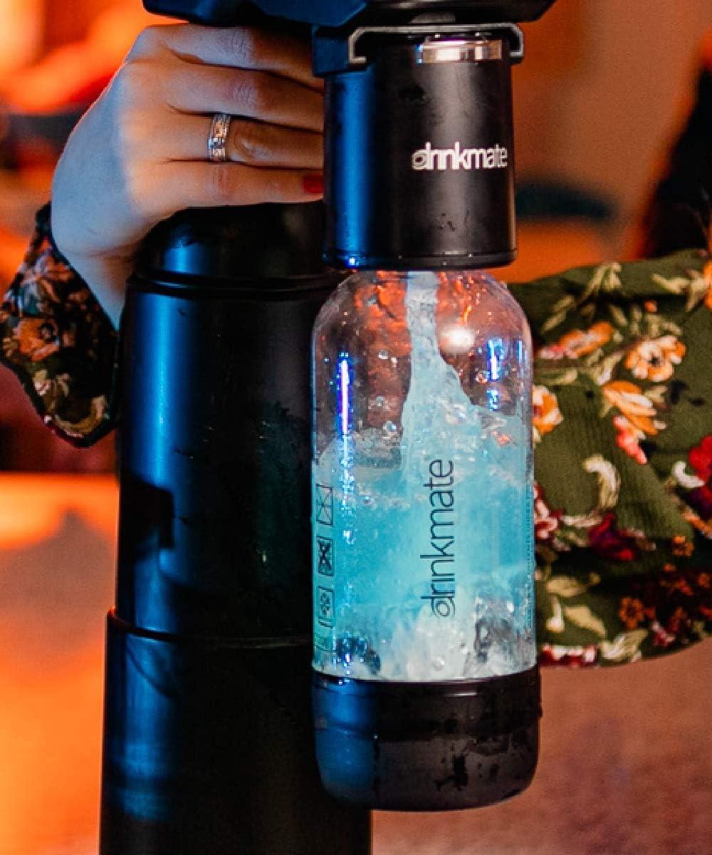 Drinkmate 1L Carbonating Bottles Red 2 Pack
