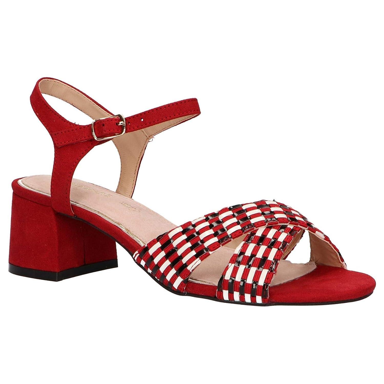Maria Mare 67337 Scarpe Donna Sandali Tacco Medio Suede