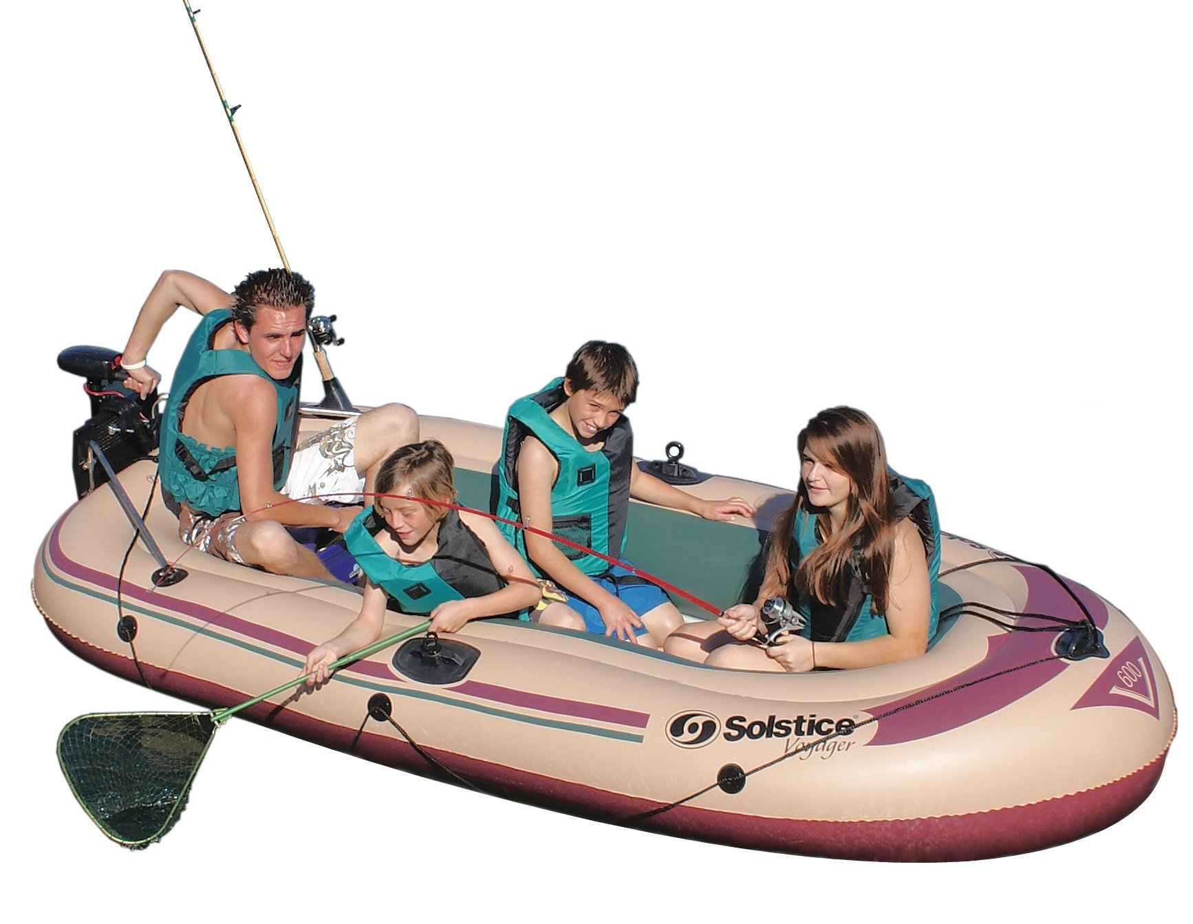 Solstice by Swimline Voyager 6-Person Boat by Solstice