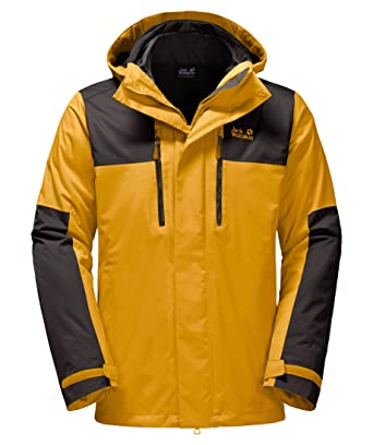 competitive price 91505 7d5e4 Jack Wolfskin Herren Jasper 3in1 Men 3-in-1 Jacke