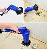 Alotm Toilet Plunger, Air Power Drain Strainers