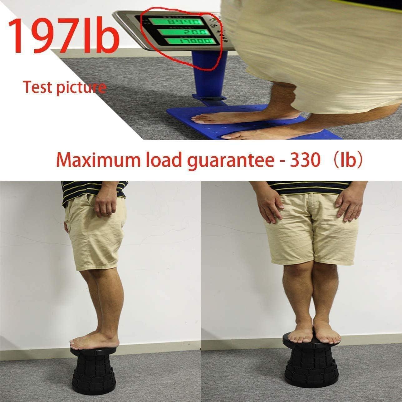 Adjustable Folding Telescopic Stool ZOORE Portable Retractable Stool