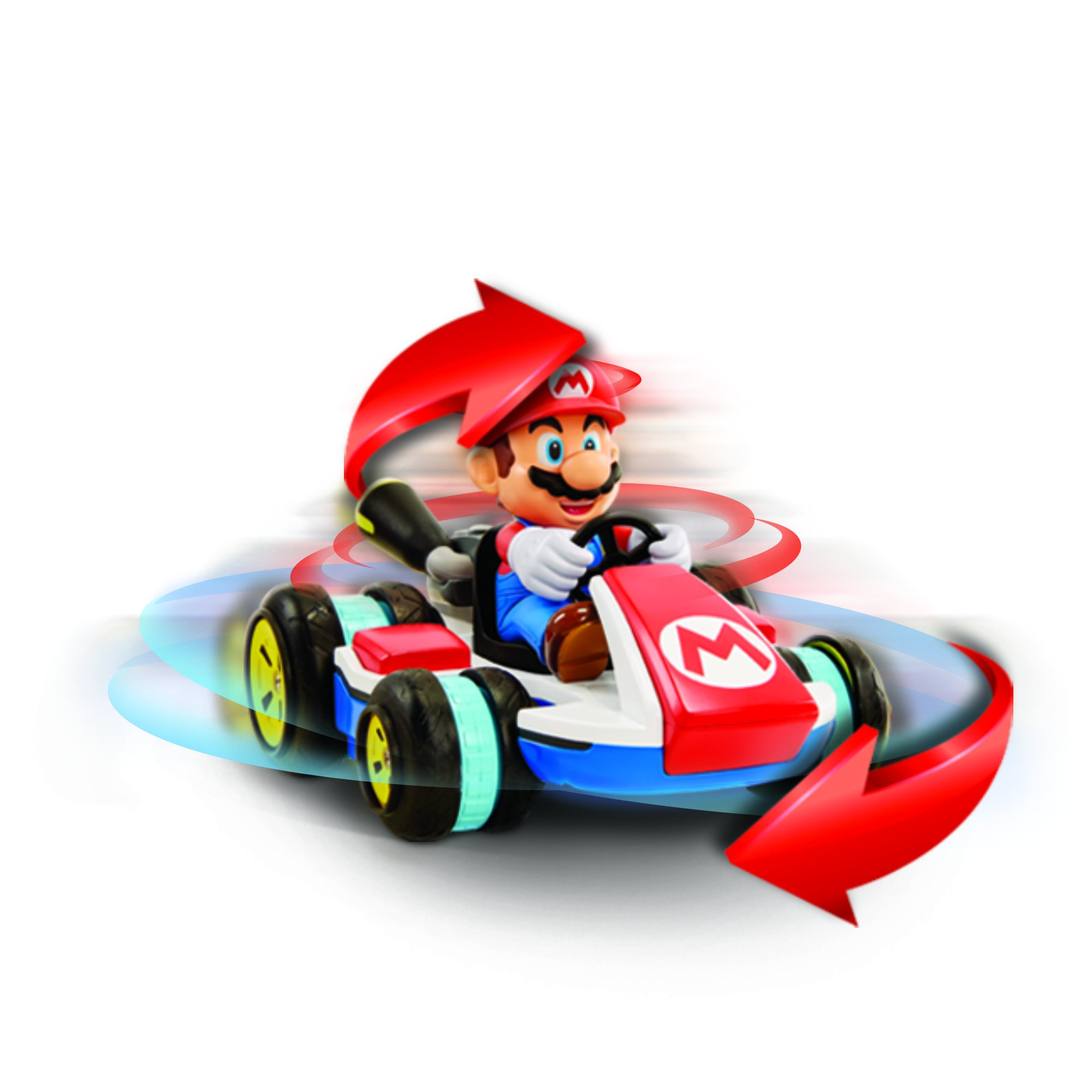 NINTENDO Super Mario Kart 8 Mario Anti-Gravity Mini RC Racer 2.4Ghz by Nintendo (Image #3)