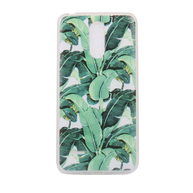 Pour LG K8 2017 Case Cover, Ecoway TPU Soft Silicone motifs peints Housse en silicone Housse de protection Housse pour té lé phone portable pour LG K8 2017 - Panda Eafior