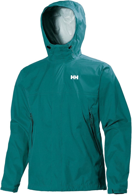 Helly-Hansen Mens Loke Waterproof Windproof Breathable Adventure Hiking Rain Jacket with Hood