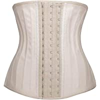 YIANNA Women's Underbust Latex Sport Girdle Waist Trainer Corset Hourglass Body Shaper