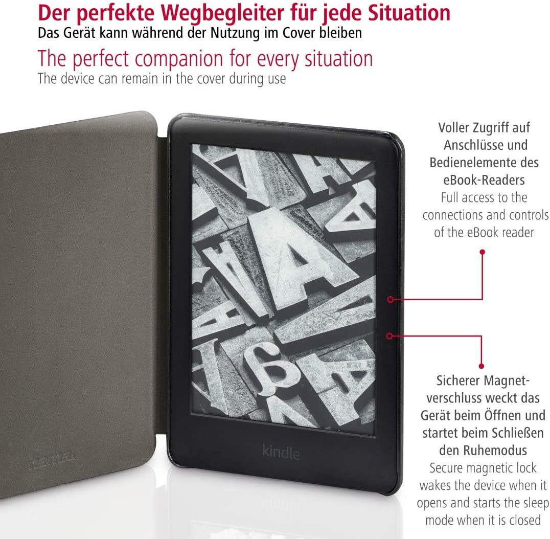 Hama Hülle Für Den Kindle Cover Case Schwarz Elektronik