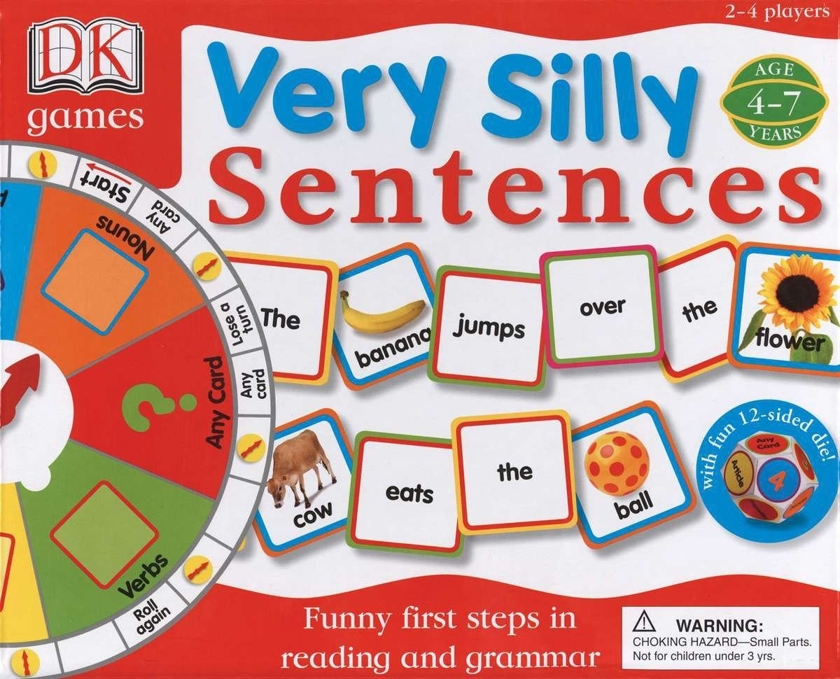 Very Silly Sentences (DK Toys & Games) by DK Children