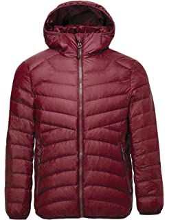 6eceedf1991 CHERRY CHICK Women's Ultra-Light Down Jacket with Hood (Perfect for Travel)