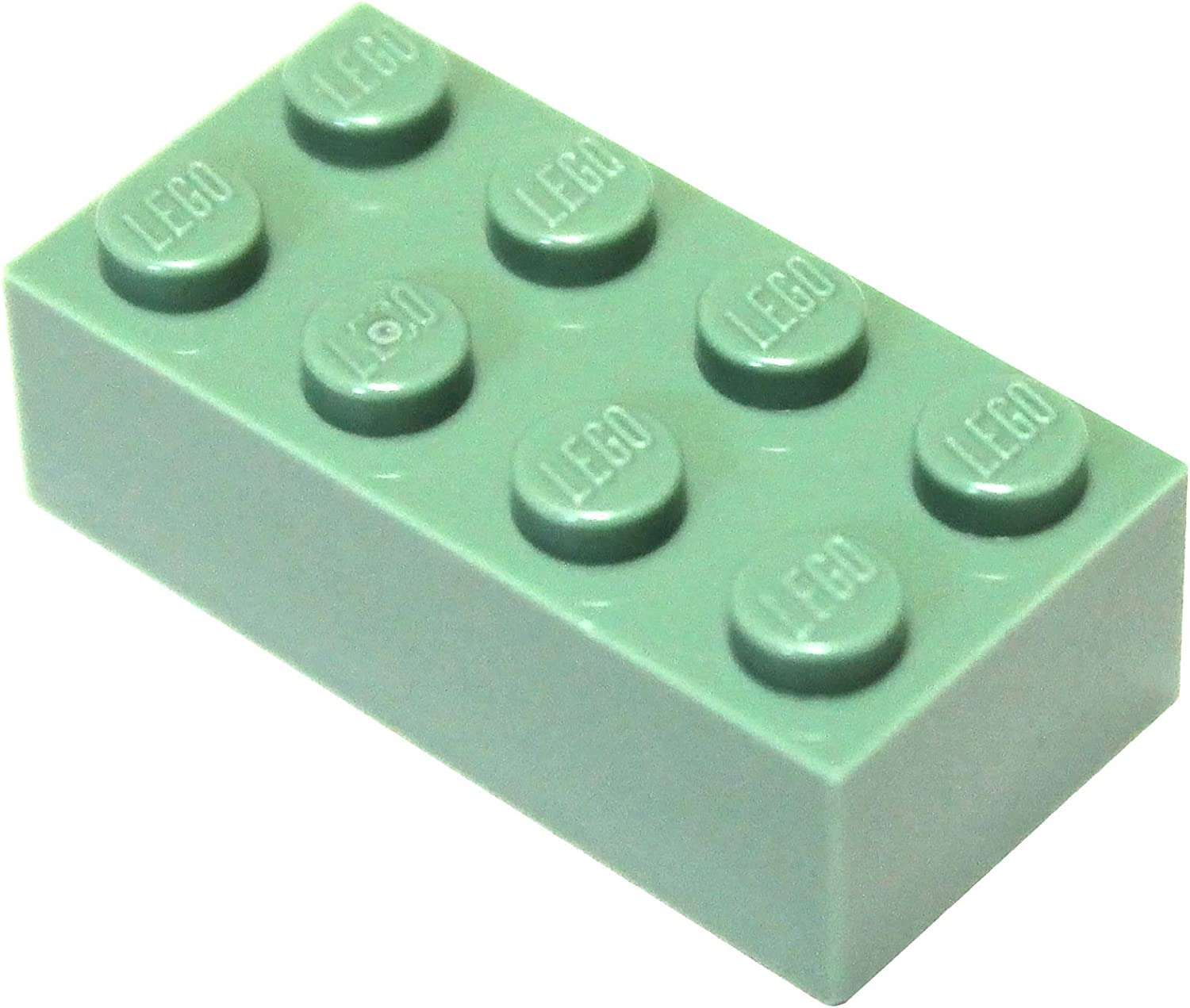 LEGO Parts and Pieces: Sand Green 2x4 Brick x200