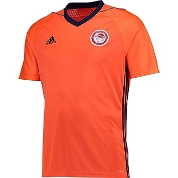adidas Ofc A JSY Camiseta 2ª Equipación Olympiacos FC, Hombre, Naranja (Narsol/