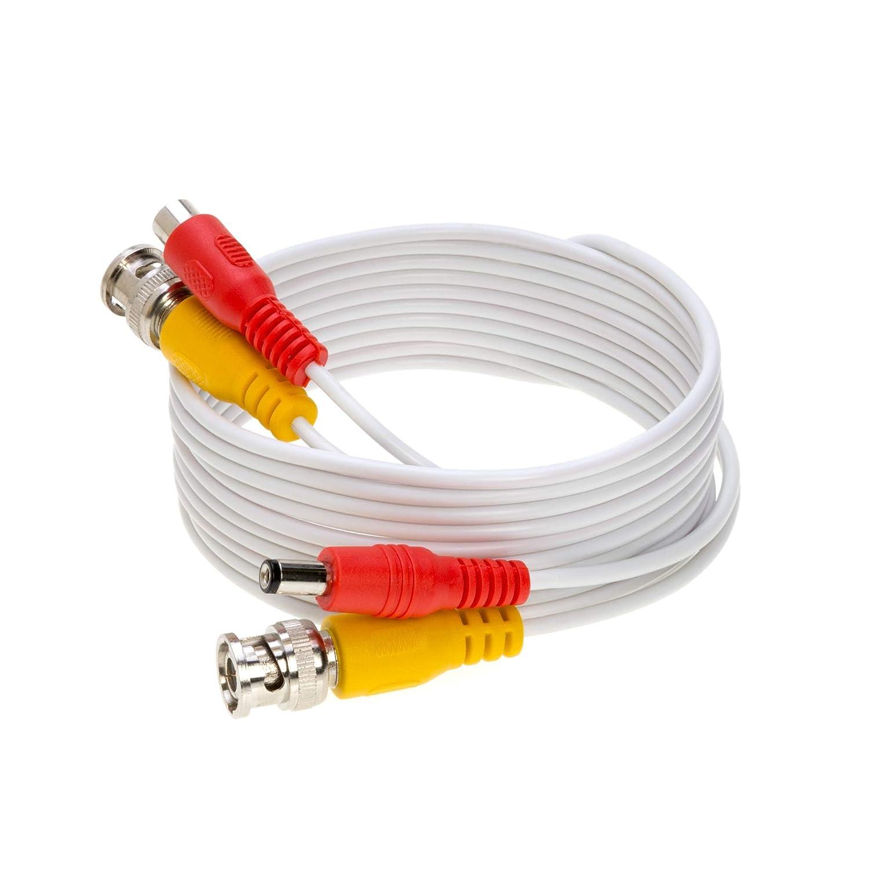 Electronics Surveillance System CCTV Plug & Play DVR 100FT Black ...