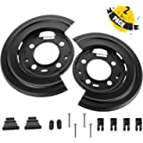 Gagsu Brake Backing Plate Rear Brake Dust Shield Backing Plates 924-212 for Ford Excursion F250 F350 F450 F550 (Pack of…