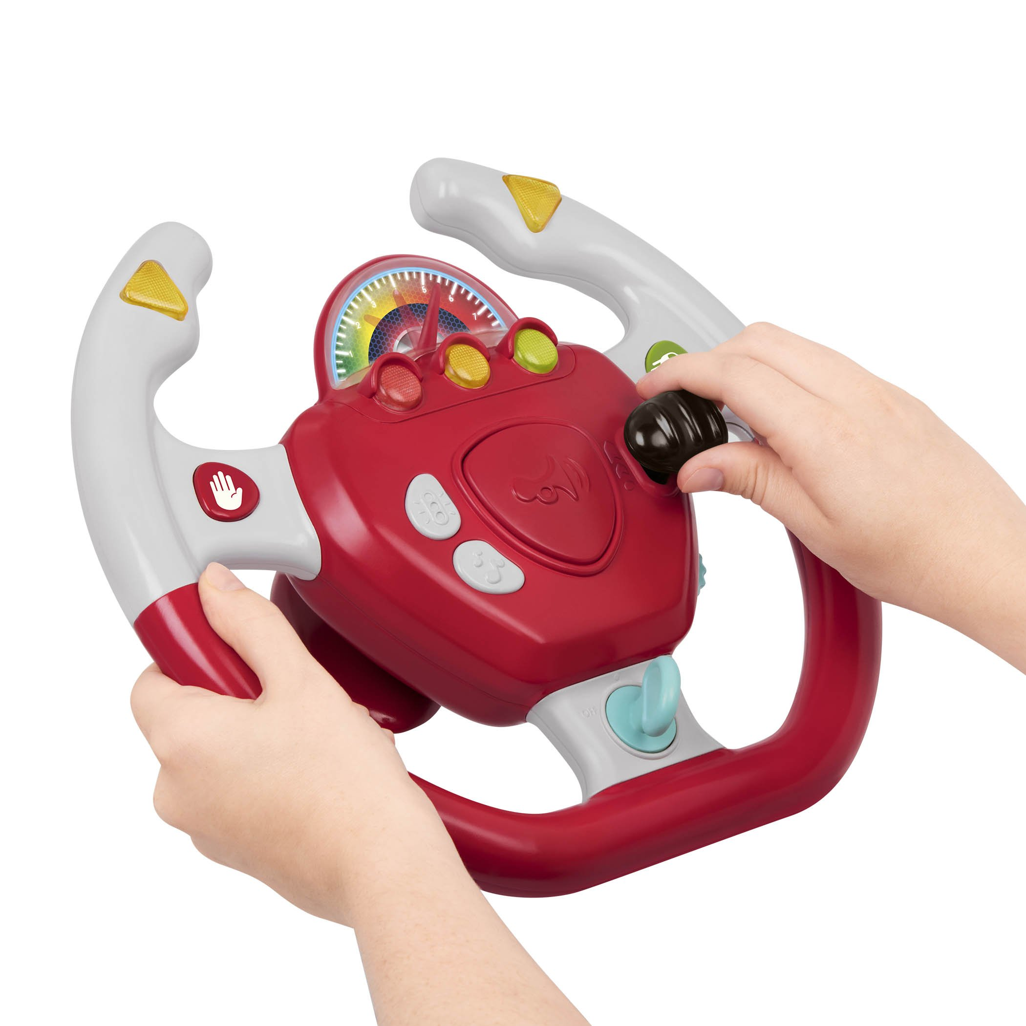 Battat - Geared to Steer Interactive Driving Wheel - Portable Pretend Play Toy Steering Wheel for Kids 2 years + by Battat (Image #4)