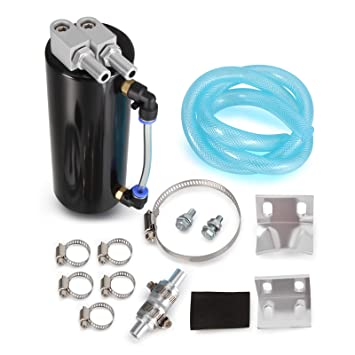 FLYN Universal Aceite contenedor ölsammler ölsammelbehälter para Auto de Aluminio