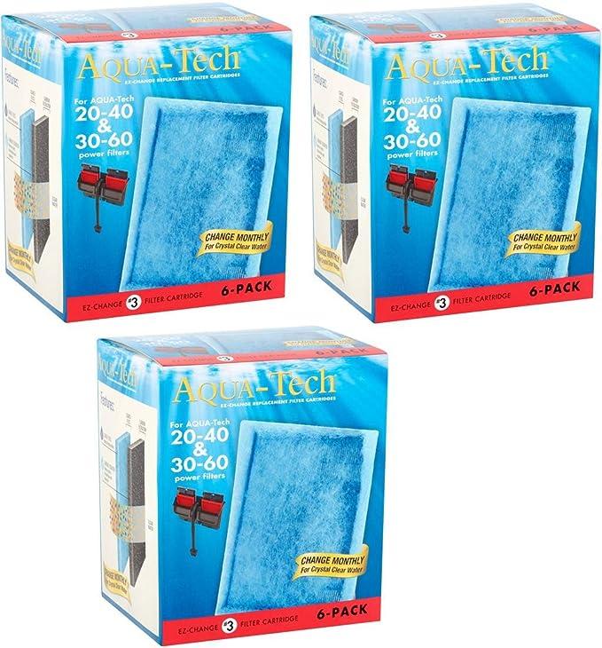 Aquatech 20/40 - 30/60 cajas de cartucho de filtro (3 paquetes de 3): Amazon.es: Bricolaje y herramientas