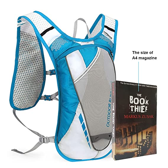 Amazon.com : Sky tree Hydration Backpack, SKYTREE Vest Light Weight Waterproof Daypack Bag for Camping, Climbing, Cycling and Other Outdoor Sports(Water ...