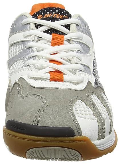 Hi-Tec AD Pro Elite, Chaussures de Fitness Homme, Bleu (Electric/Black/Orange 031), 39 EU