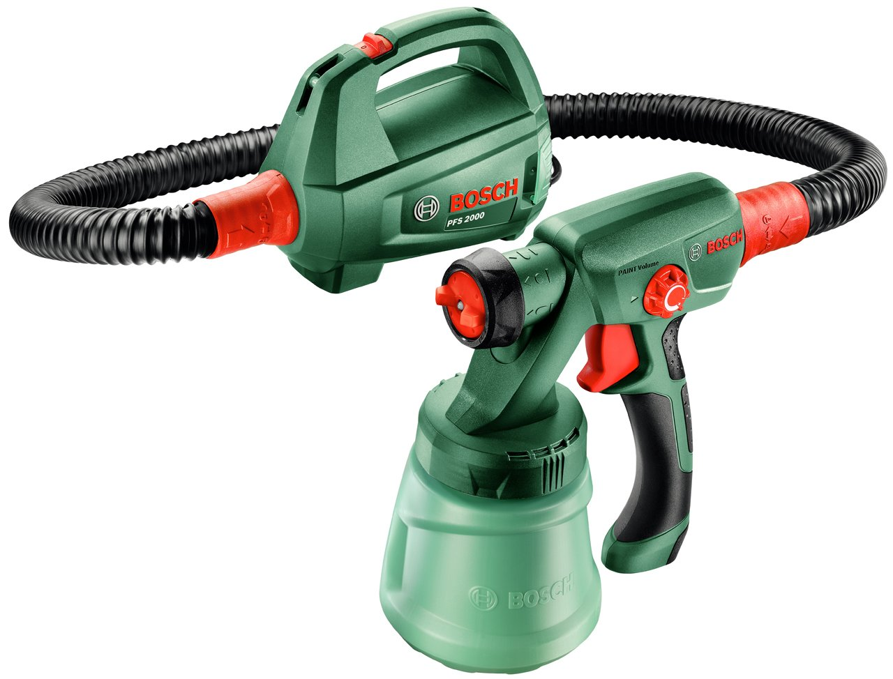 Pistola de pulverización de pintura Bosch PFS 2000 por solo 85,50€