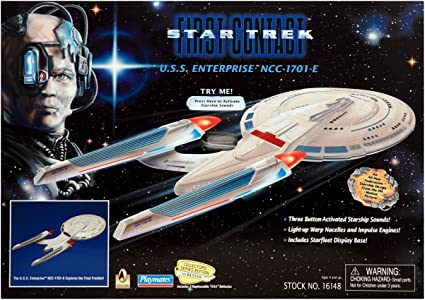 Star Trek Iss Enterprise Ncc-1701 Toy New Star Trek Starships