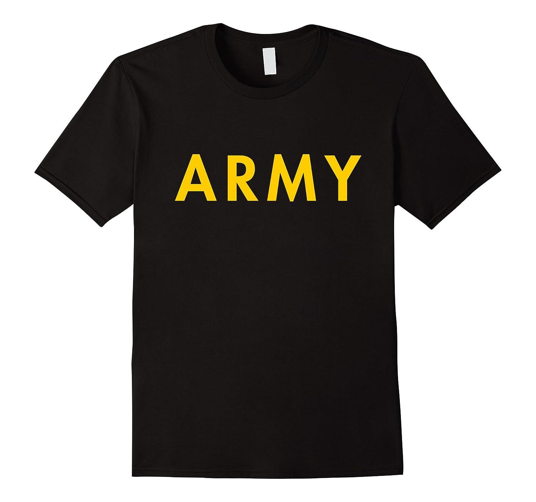 APFU Army Physical Fitness Uniform Style – Black ARMY Shirt